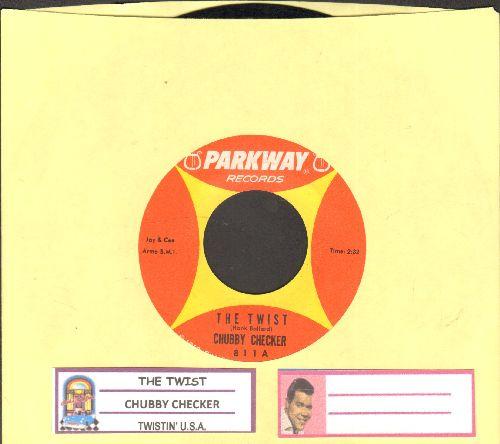 Checker, Chubby - The Twist/Twistin' U.S.A. (with juke box label) - NM9/ - 45 rpm Records