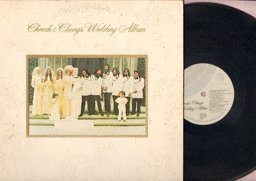 Cheech & Chong - Cheech & Chong's Wedding Album - The Classic Comedy album featuring the hit