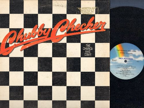 Checker, Chubby - The Change Has Come: Under My Thumb, T-82, (Don't Be Afraid) It's Only Rock And Roll, Burn Up The Night (vinyl STEREO LP record, DJ advance pressing) - EX8/VG7 - LP Records