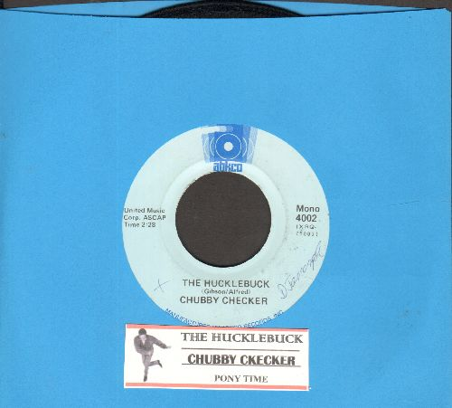 Checker, Chubby - The Hucklebuck/Pony Time (double-hit re-issue with juke box label) - NM9/ - 45 rpm Records