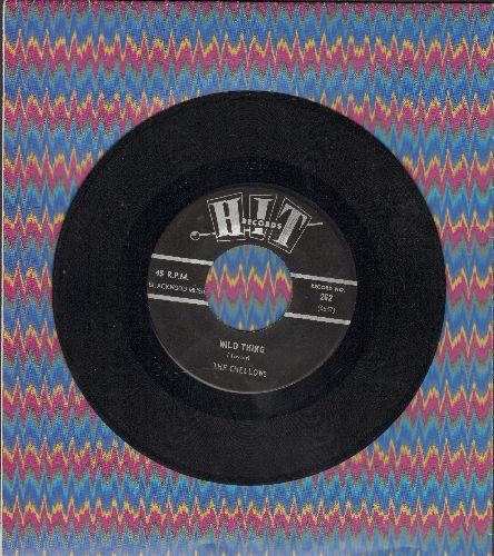 Chellows - Wild Thing/Little Red Riding Hood (by The Jalopy Five on flip-side) - EX8/ - 45 rpm Records