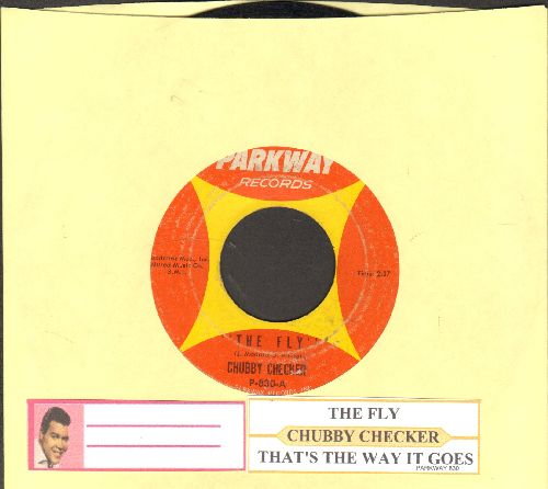 Checker, Chubby - The Fly/That's The Way It Goes (with juke box label - VG7/ - 45 rpm Records