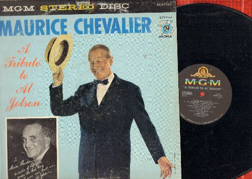 Chevalier, Maurice - A Tribute To Al Jolson: California Here I Come, Sonny Boy, My Mammy, Swanee, Toot Toot Tootsie (Vinyl STEREO LP record) - NM9/VG7 - LP Records