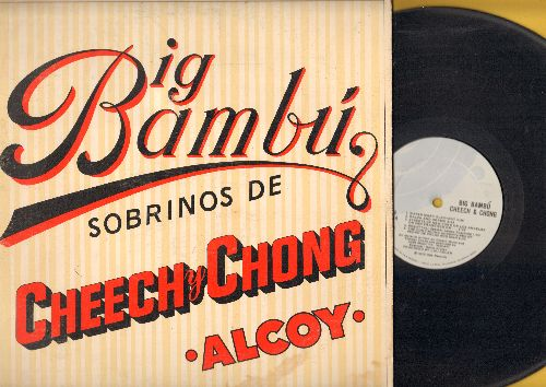 Cheech & Chong - Big Bambu - Early effort by the notorious 1970s comedy duo. (Vinyl LP record) (no paper bonus) - EX8/VG7 - LP Records