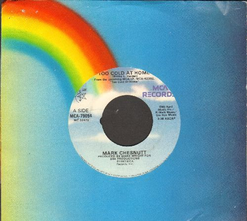 Chesnutt, Mark - Too Cold At Home/Life Of A Lucky Man (with MCA company sleeve) - EX8/ - 45 rpm Records