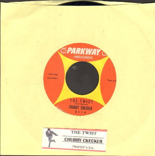 Checker, Chubby - The Twist/Twistin' U.S.A. (with juke box label) - EX8/ - 45 rpm Records