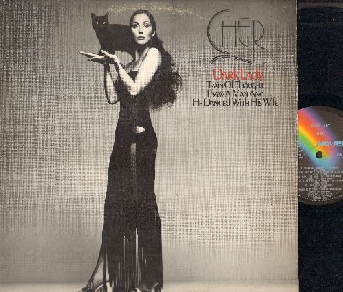 Cher - Dark Lady: I Saw A Man And He Danced With His Wife, Rescue Me, Apples Don't Fall far From The Tree (vinyl LP record) - NM9/EX8 - LP Records