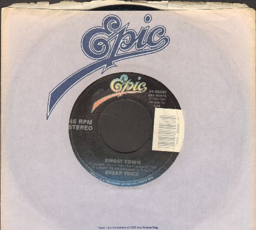 Cheap Trick - Ghost Town/Wrong Side Of Love (with Epic company sleeve) - EX8/ - 45 rpm Records