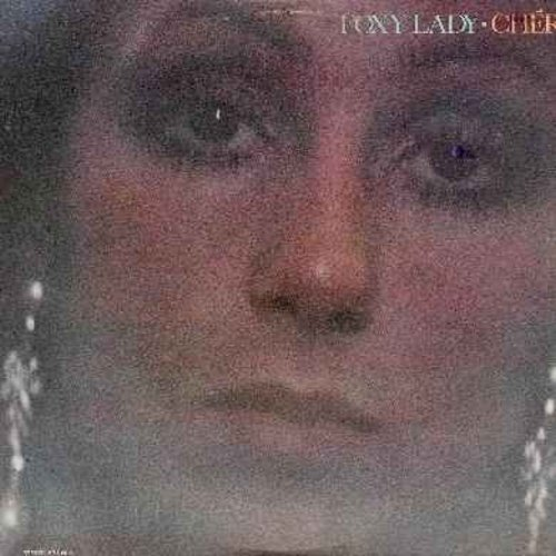 Cher - Foxy Lady: Living In A House Divided, Song For You, It Might As Well Stay Monday, The First Time, Let Me Down Easy, Never Been To Spain, If I Knew Then (vinyl LP record) - NM9/EX8 - LP Records
