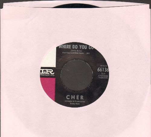 Cher - Where Do You Go/See See Blues - NM9/ - 45 rpm Records