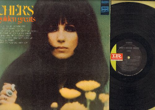 Cher - Cher's Golden Greats: Elusive Butterfly, All I Really Want To Do, Alfie, Needles And Pins, Dream Baby, Sunny, Where Do You Go (Vinyl STEREO LP record) - NM9/EX8 - LP Records