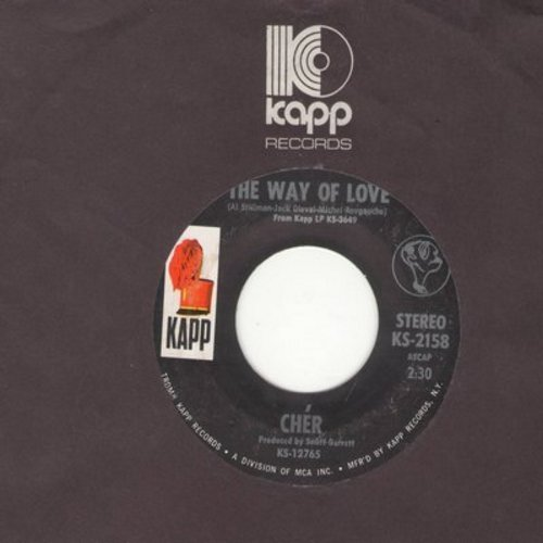 Cher - The Way Of Love/Don't Put It On Me (bb) - EX8/ - 45 rpm Records