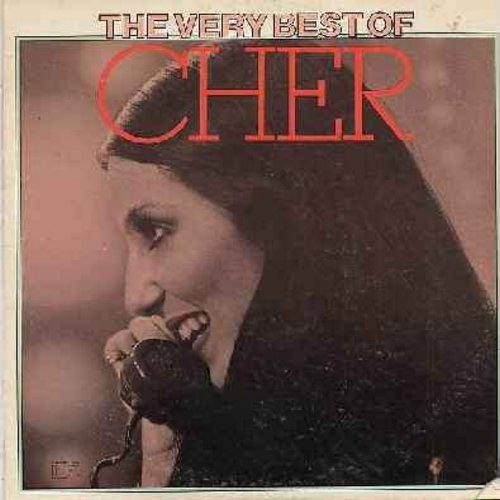 Cher - The Very Best Of: Sunny, Needles And Pins, Alfie, Will You Love Me Tomorrow, All I really Want To Do (vinyl STEREO LP record, small corner factory-cut) - M10/EX8 - LP Records