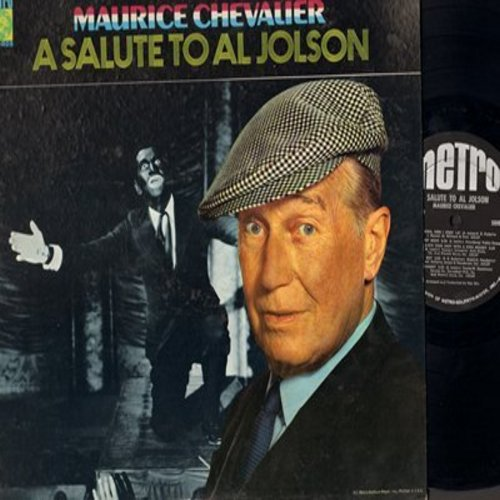 Chevalier, Maurice - A Salute To Al Jolson: California Here I Come, Sonny Boy, My Mammy, Swanee, Toot Toot Tootsie (Vinyl STEREO LP record) - EX8/EX8 - LP Records