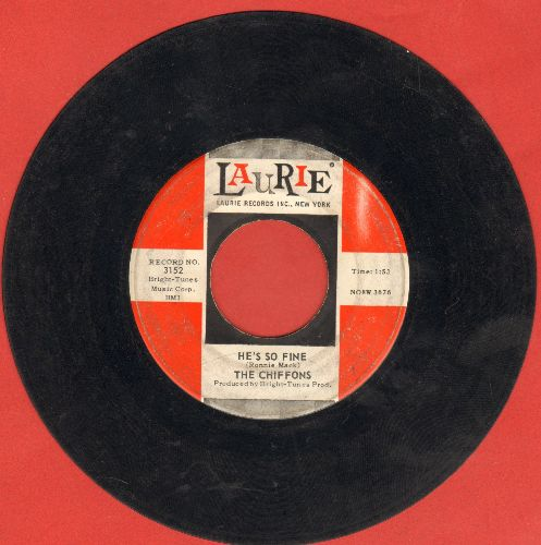 Chiffons - He's So Fine/Oh My Lover  - VG6/ - 45 rpm Records