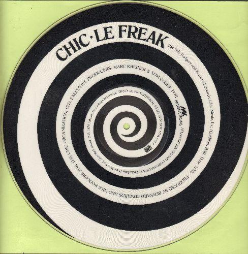 Chic - Le Freak (5:24 Minutes Extended Disco Version)/Savoir Faire (4:53 Minutes Version) (RARE 12 inch Maxi PICTURE DISC!) - EX8/ - Maxi Singles
