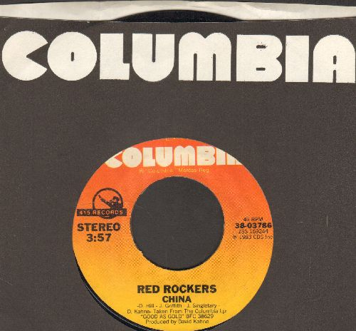 Red Rockers - China/Voice Of America (with columbia company sleeve) - EX8/ - 45 rpm Records