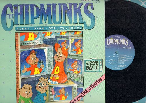 Chipmunks - Songs From Our TV Shows: Beat It, Uptown Girl, It's My Party, Surfin' USA, Witch Doctor (vinyl LP record) - EX8/EX8 - LP Records
