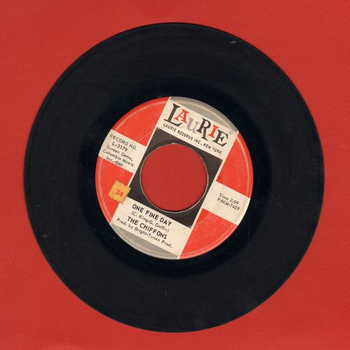 Chiffons - One Fine Day/Why Am I So Shy  - VG7/ - 45 rpm Records