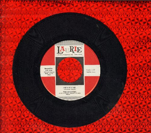 Chiffons - He's So Fine/Oh My Lover (ssol) - EX8/ - 45 rpm Records