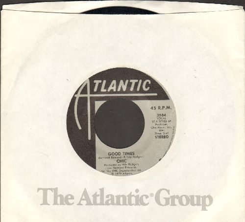 Chic - Good Times/A Warm Summer Night (with Atlantic company sleeve) - NM9/ - 45 rpm Records