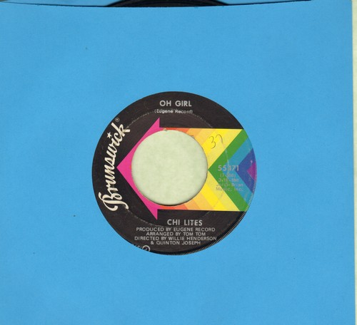 Chi-Lites - Oh Girl/Being In Love - NM9/ - 45 rpm Records