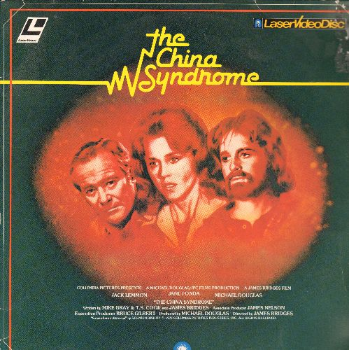 The China Syndrome - The China Syndrome - LASER DISC version of the 1979 Classic about the cover-up of a Nuclear Power Plant Accident (This is a LASR DISC, not any other kind of media!) - NM9/EX8 - Laser Discs