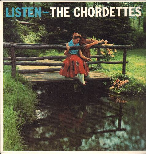 Chordettes - Listen: Sentimental Journey, Ballin' The Jack, Basin Street Blues, Shine On Harvest Moon, The Anniversary Waltz (Vinyl STEREO LP record, re-issue of vintage recordings) - NM9/NM9 - LP Records