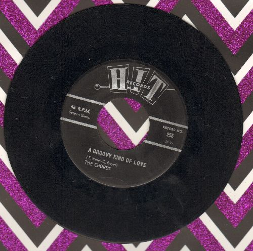 Chords - A Groovy Kind Of Love/Green Grass (by Ed Hardin on flip-side) (contemporary cover versions) - EX8/ - 45 rpm Records