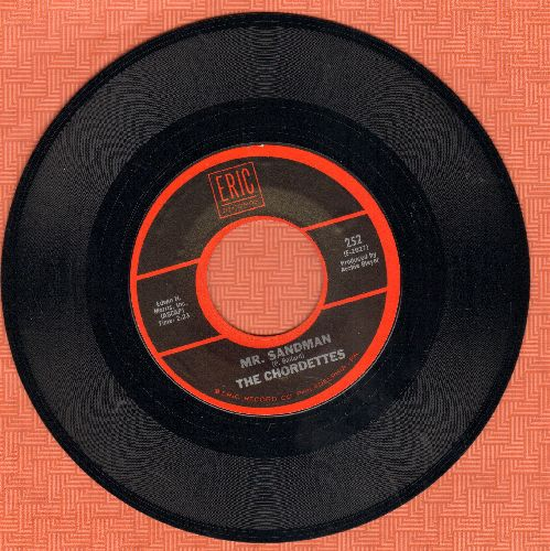 Chordettes - Mr. Sandman/Lollipop (double-hit re-issue) - NM9/ - 45 rpm Records