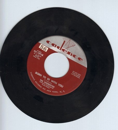 Chordettes - Born To Be With You/Love Never Changes  - EX8/ - 45 rpm Records