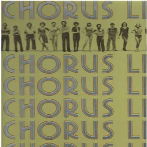 A Chorus Line - A Chorus Line - Original Broadway Cast Recording (Vinyl STEREO LP record, gate-fold cover first pressing) - EX8/EX8 - LP Records