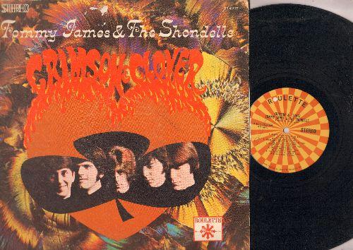 James, Tommy & The Shondells - Crimson & Clover: Crystal Blue Persuasion, Breakaway, Suagr On Sunday (vinyl STEREO LP record) - EX8/VG6 - LP Records
