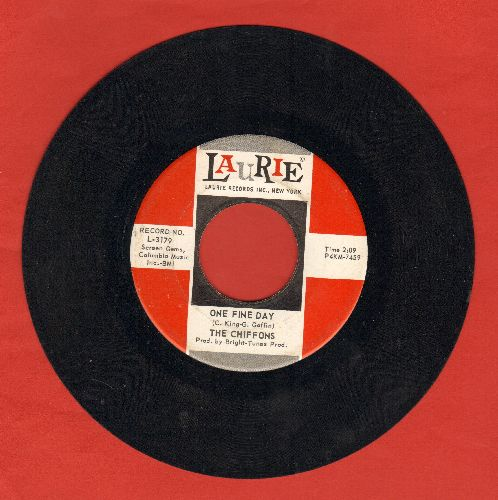 Chiffons - One Fine Day/Why Am I So Shy  - EX8/ - 45 rpm Records