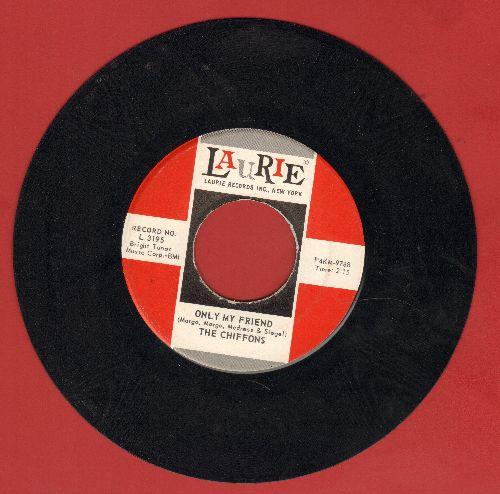 Chiffons - A Love So Fine/Only My Friend  - NM9/ - 45 rpm Records
