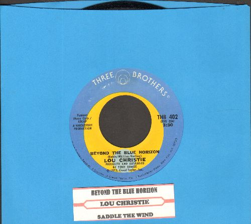 Christie, Lou - Beyond The Blue Horizon/Saddle The Wind (with juke box label) - NM9/ - 45 rpm Records