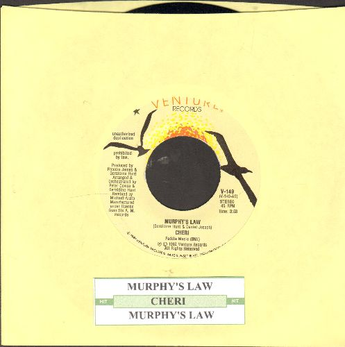 Cheri - Murphy's Law/Murphy's Law (with juke box label) - NM9/ - 45 rpm Records