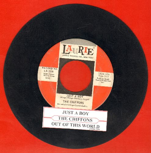 Chiffons - Just A Boy/Out Of This World (with juke box label) - VG7/ - 45 rpm Records