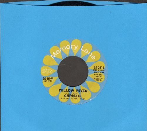 Christie - Yellow River/As The Years Go By (by Mashmakhan on flip-side) (re-issue) - NM9/ - 45 rpm Records
