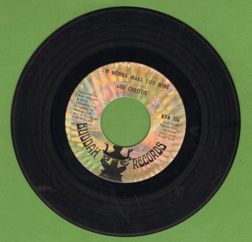 Christie, Lou - I'm Gonna Make You Mine/I'm Gonna Get Married  - EX8/ - 45 rpm Records