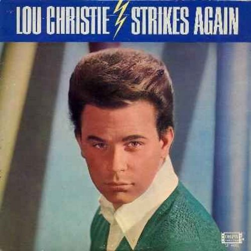 Christie, Lou - Lightning Strikes Again: Guitars And Bongos, A Teenager In Love, Have I Sinned, Make Summer Last Forever, Big Time (Vinyl MONO LP record) - M10/EX8 - LP Records