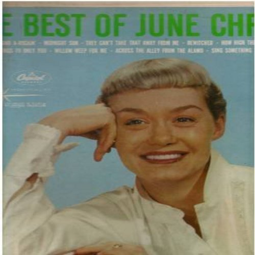 Christy, June - Best Of: Bewitched, They Can't Take That Away From Me, How High The Moon, Something Cool, Midnight Sun (Vinyl MONO LP record, re-issue of vintage recordings) - EX8/EX8 - LP Records