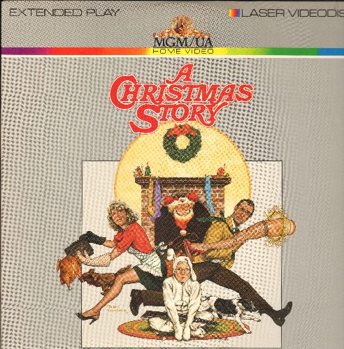 A Christmas Story - A Chirstmas Story LASER DISC VERSION - Iconic Christmas Favorite  - NM9/EX8 - Laser Discs