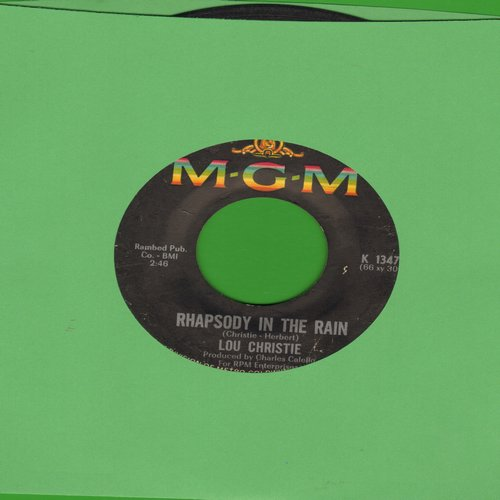 Christie, Lou - Rhapsody In The Rain/Trapeze  - VG7/ - 45 rpm Records