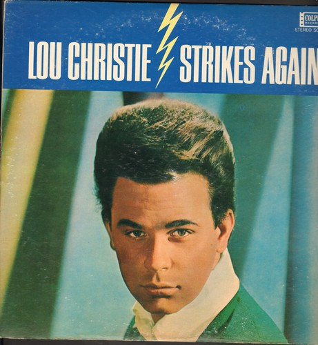 Christie, Lou - Lightning Strikes Again: Guitars And Bongos, A Teenager In Love, Have I Sinned, Make Summer Last Forever, Big Time (Vinyl STEREO LP record) - NM9/EX8 - LP Records