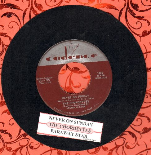 Chantels - The Plea/How Could You Call It Off (double-hit re-issue with juke box label) - NM9/ - 45 rpm Records