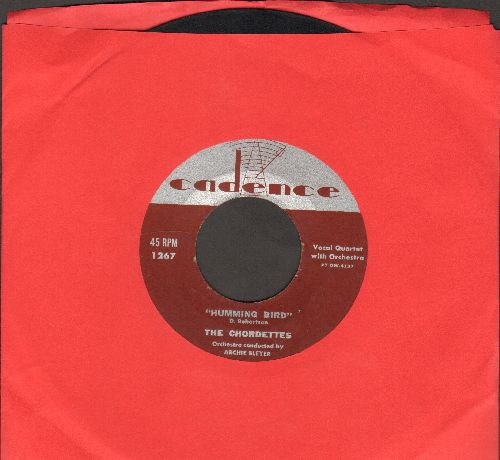 Chordettes - Humming Bird/I Told A Lie - VG7/ - 45 rpm Records