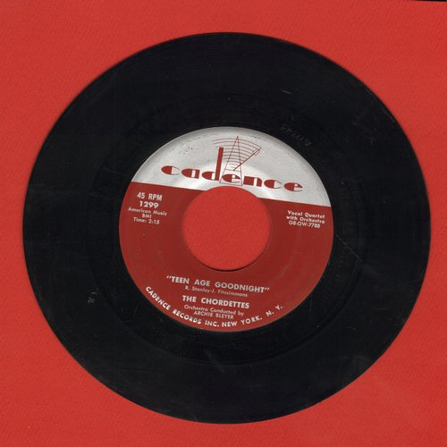 Chordettes - Teen Age Goodnight/Lay Down Your Arms (NICE condition!) - NM9/ - 45 rpm Records