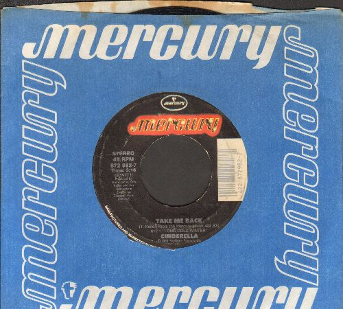 Cinderella - Take Me Back/Coming Home (Album Version) (with company sleeve) - VG7/ - 45 rpm Records