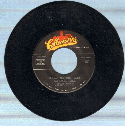 Cole, Natalie - Someone That I Used To Love/Lucy In The Sky With Diamonds (double-hit re-issue) - NM9/ - 45 rpm Records